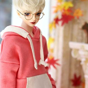 SD17 Pigment Coloration Hooded -Pink