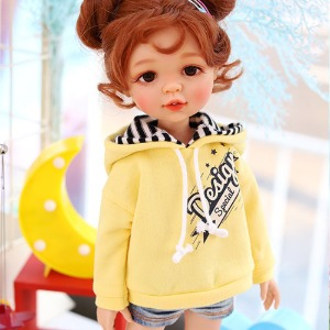 Paola Reina Design Special Hooded T - Yellow