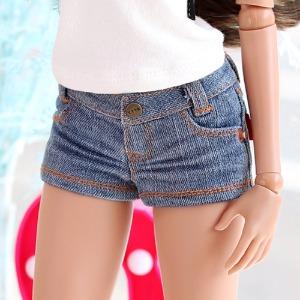 SD13 GIRL & Smart Doll New Washing Short Pants - L.Blue