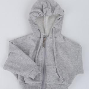 (Pre-order) [SDB]Over fit hood zip-up(Gray)