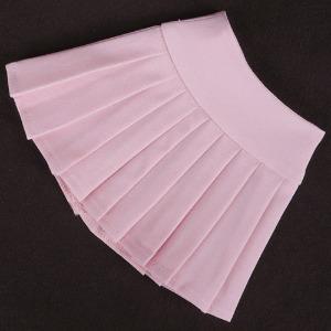 [SDG]Basic pleated skirt(Salmon pink)