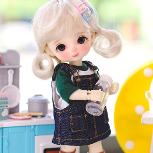 16cm Cutie Pocket Overall Skirts - Blue