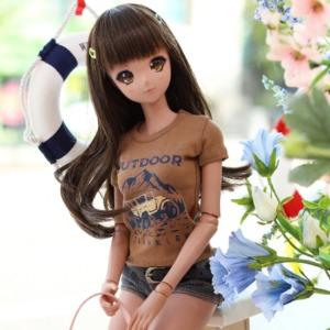 SD13 GIRL & Smart Doll Outdoor T-shirt - Brown