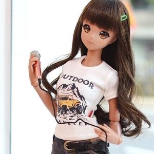 SD13 GIRL & Smart Doll Outdoor T-shirt - White