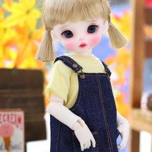 USD Cutie Pocket Overall Skirts - Blue