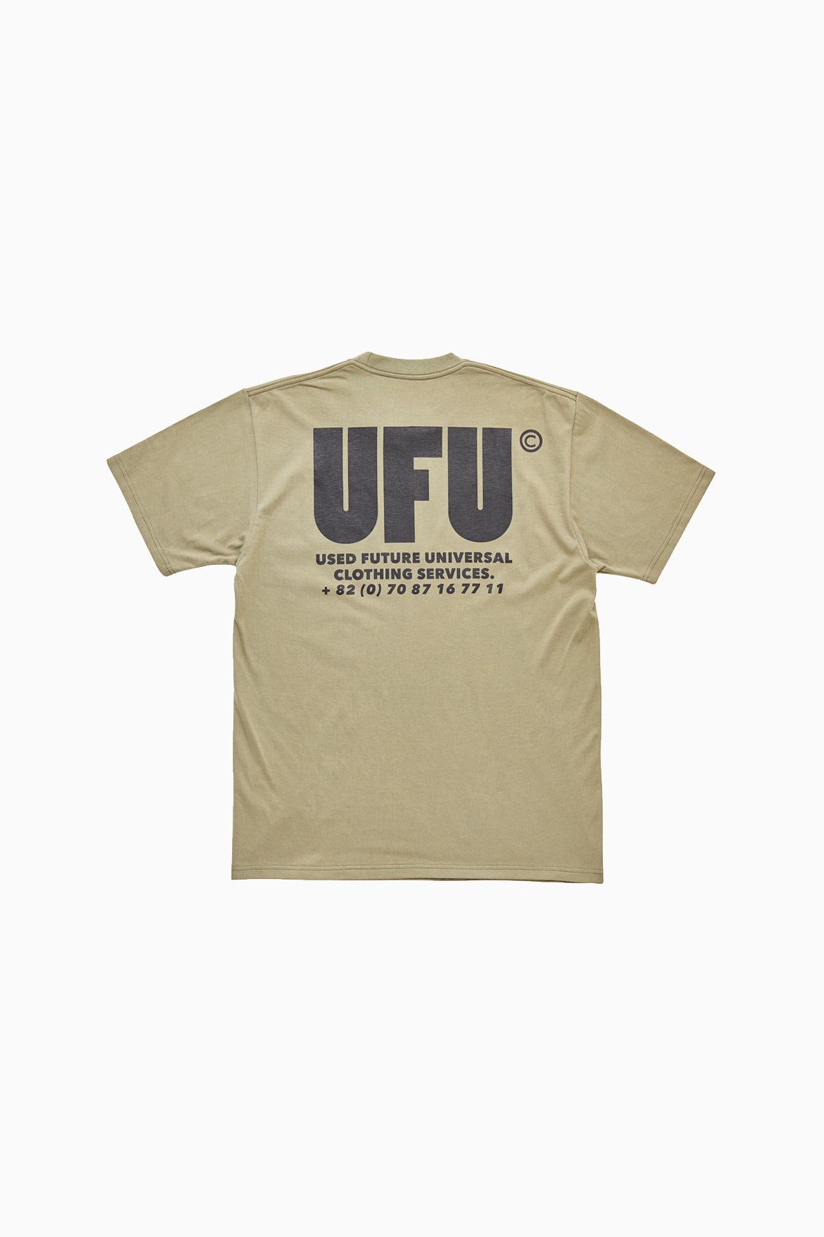 UFU AD T-SHIRT_KHAKI