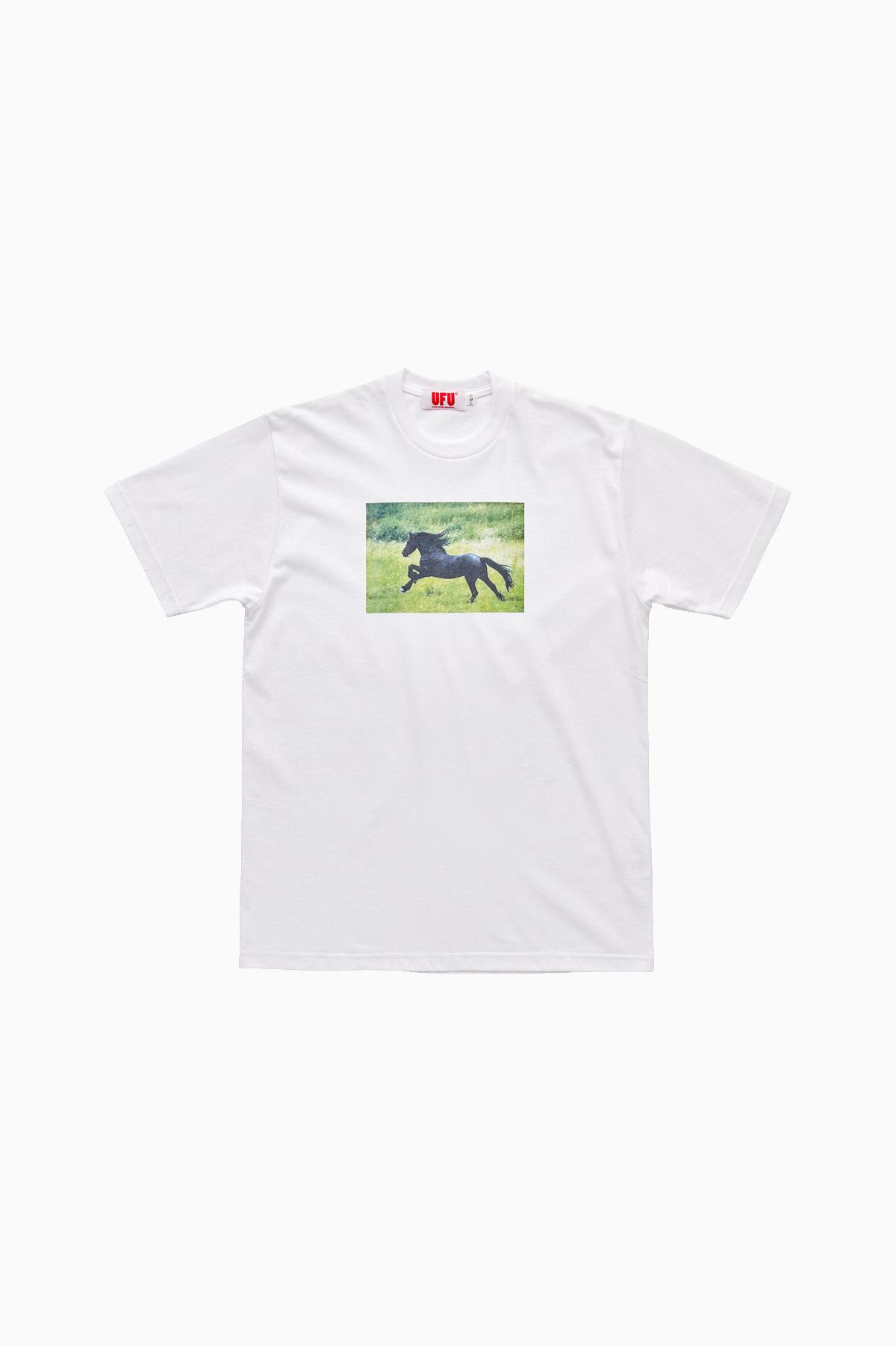 HORSE T-SHIRT_WHITE