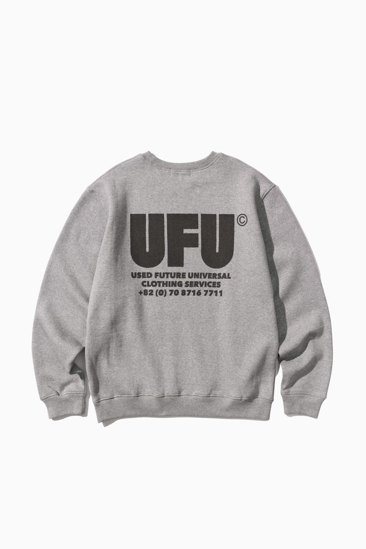 UFU AD CREWNECK_GREY