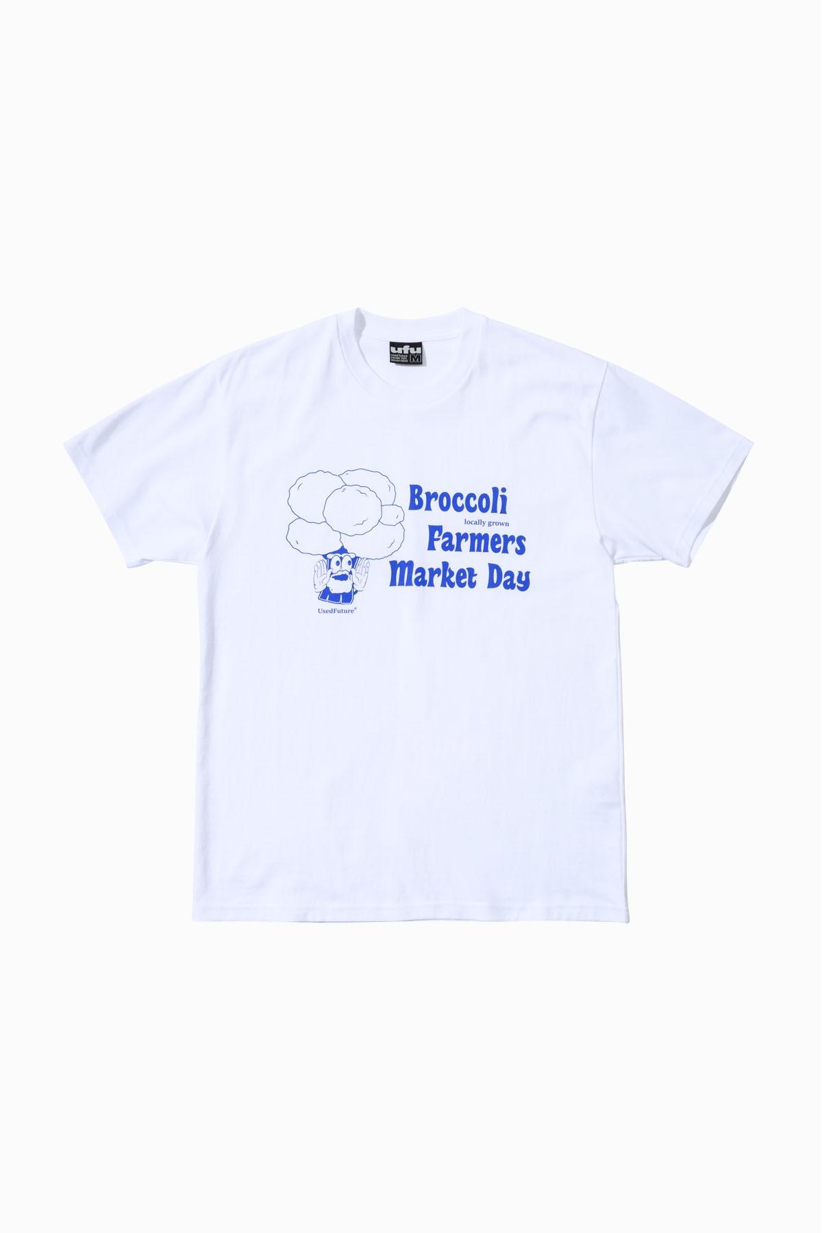 BROCCOLI T-SHIRT_WHITE