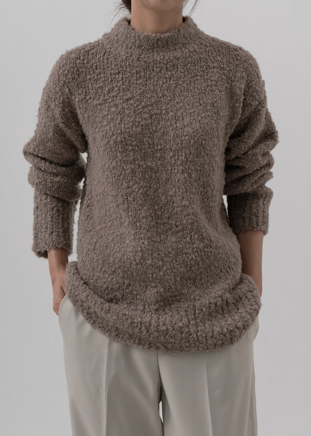 [MORE THAN YESTERDAY] Bookle knitwear