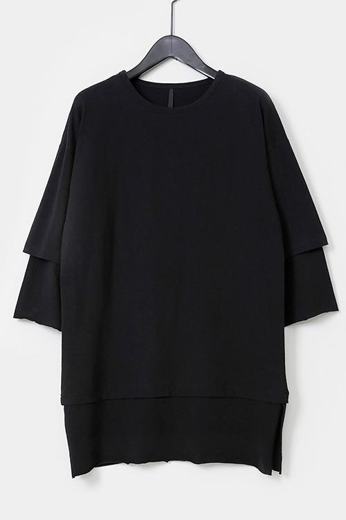 Double Layered Short Sleeve T-shirt