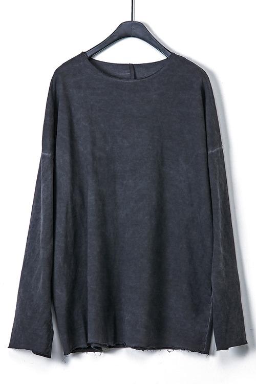 Oversized Raw-Edge T-shirt