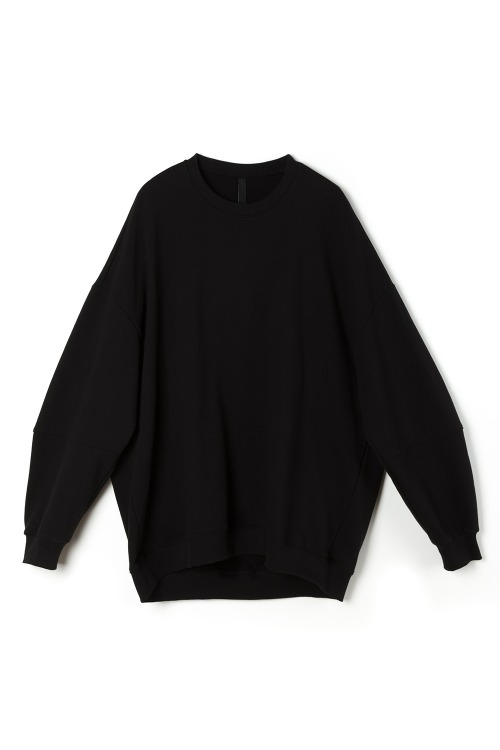 [F/W] Balloon Mantoman T-shirt [Black]