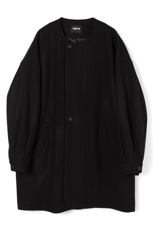[F/W] Round-Neck Wool Overcoat