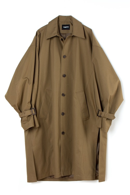 [F/W] Oversized Dart Trench Coat [KHAKI BEIGE]