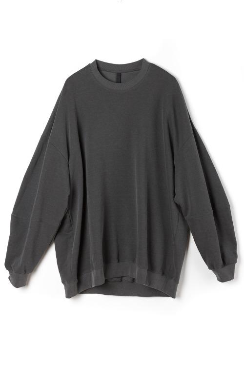 [F/W] Balloon Mantoman T-shirt [Grey]