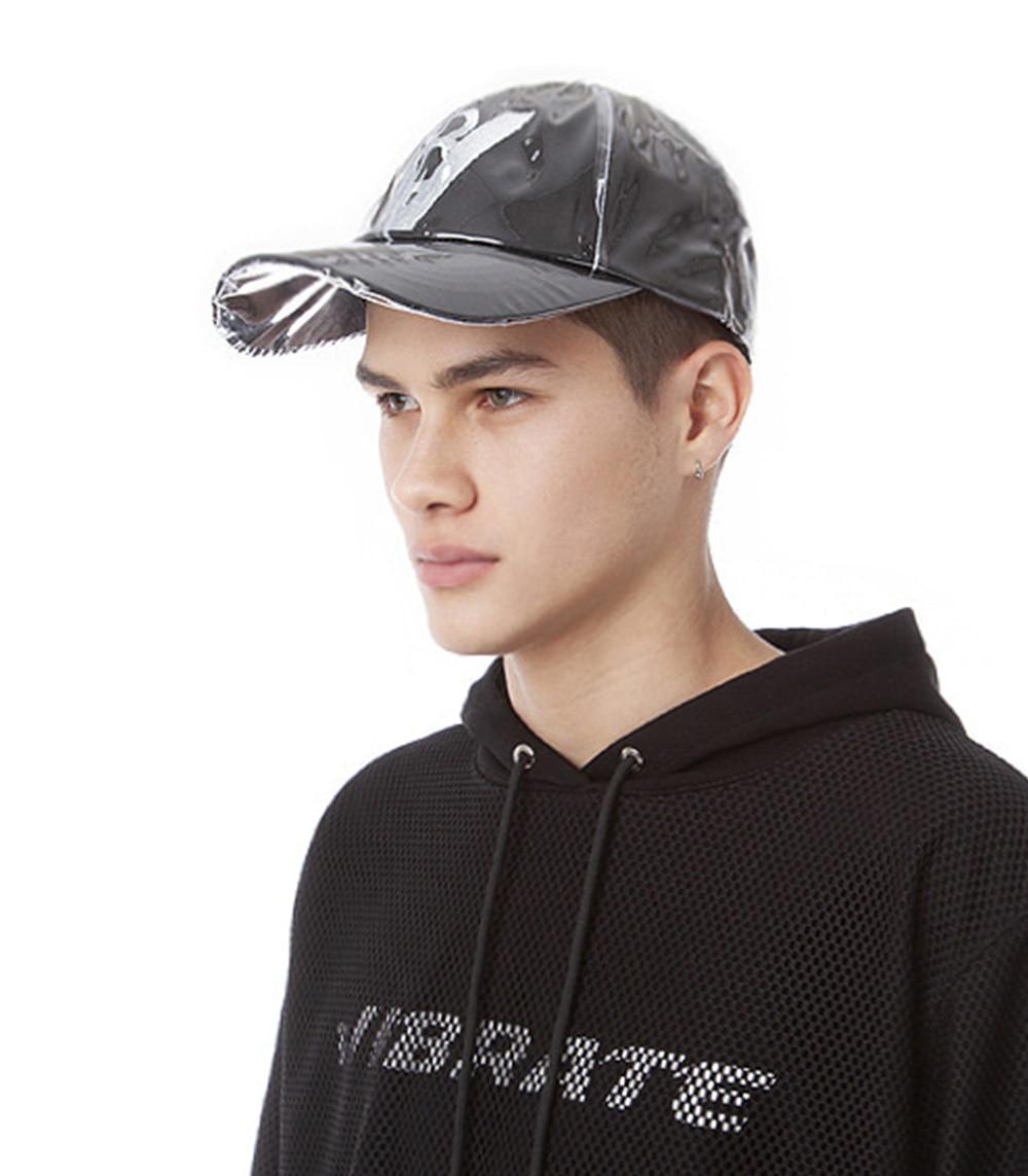 SYMBOL LOGO PVC BALL CAP (BLACK)