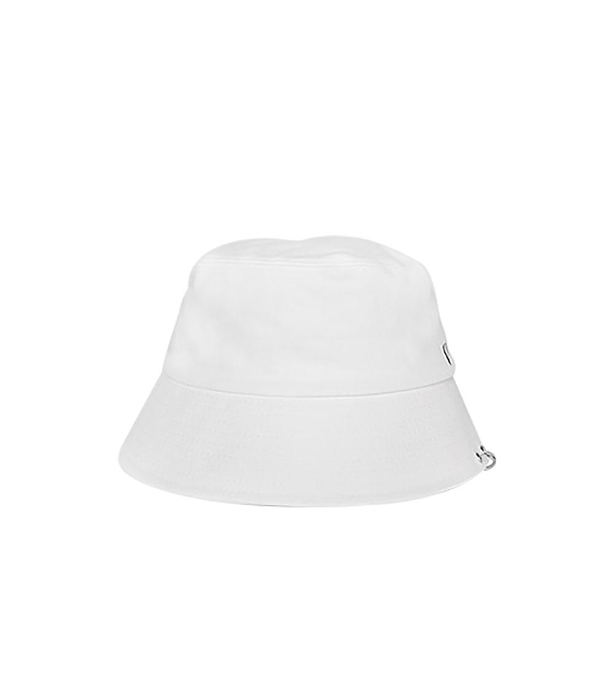 TWIN RING BUCKET HAT (WHITE)