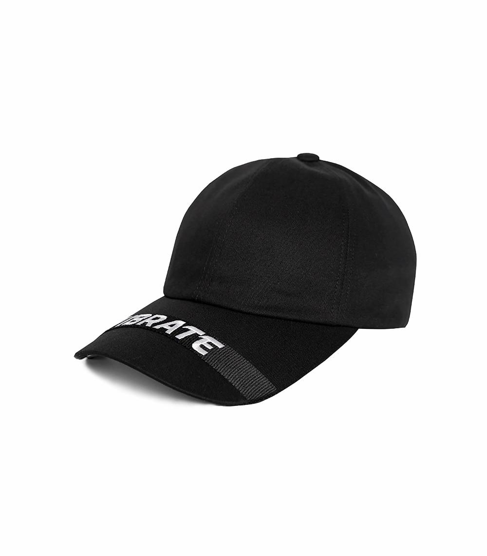 LOOP BALL CAP (black)