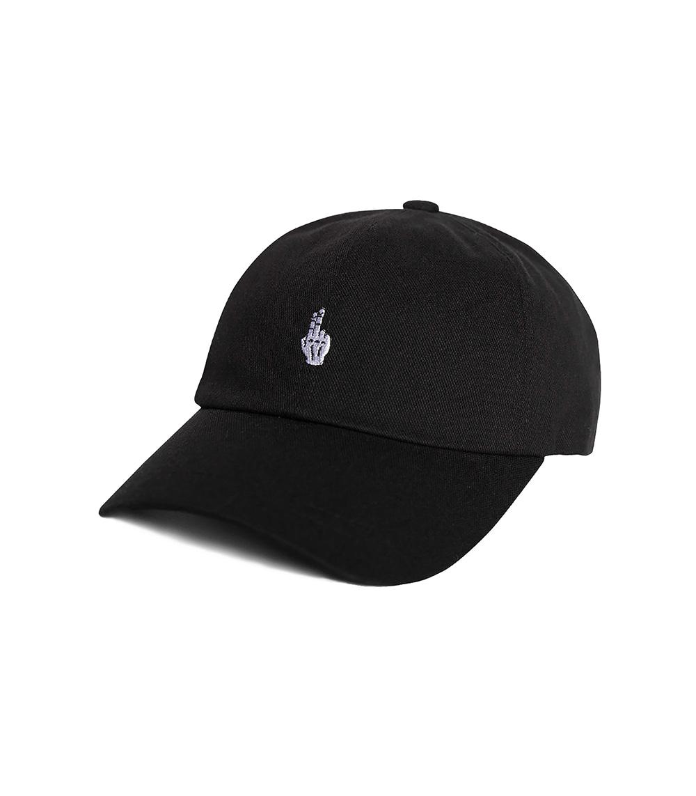 VIBRATE - FINGER BALL CAP (WASHING BLACK)