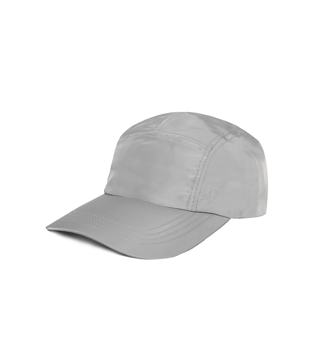 BOX ROUND CAMP CAP (SILVER)