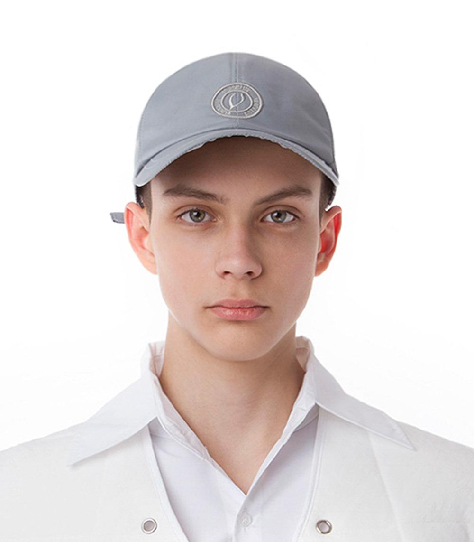 METAL NYLON BALL CAP (SILVER)