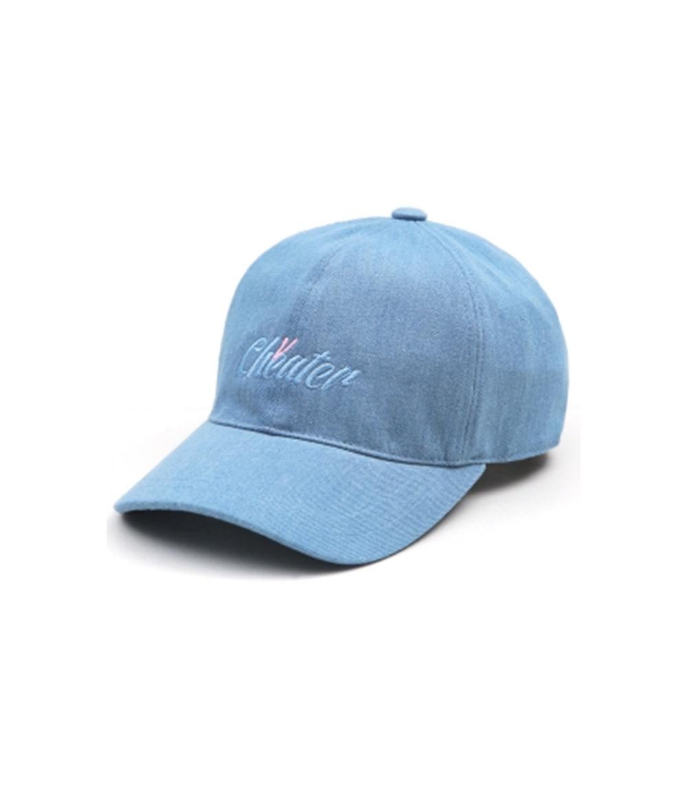 VIBRATE - ITALIC BALL CAP (light denim)