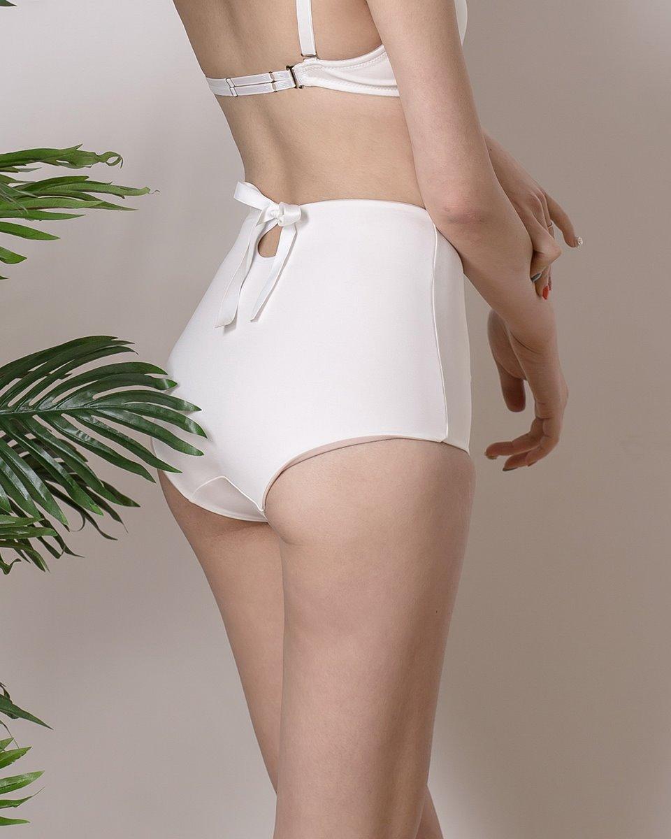 하이-백리본 비키니팬티 (White)