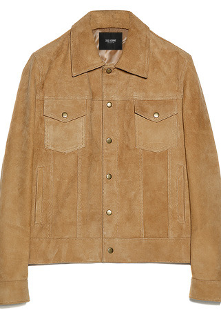 [206 HOMME BY JLDCLASSIC]CLASSIC ITALY CAMEL-SUEDE JACKET(JP-021)(남성용 + 여성용)