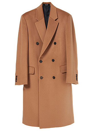 """[206 HOMME BY JLDCLASSIC]LUXURY NOTCHED-LAPEL CAMEL DOUBLE COAT(WOOL 100%)(CT-188)[차승원 """"화유기"""" TVN 드라마 협찬]"""