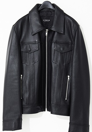 [206 HOMME by JLDCLASSIC]2020-21 F/W NEW COLLECTIONRETRO ZIP-UP SIDE-ZIPPER JACKET(LT-232)