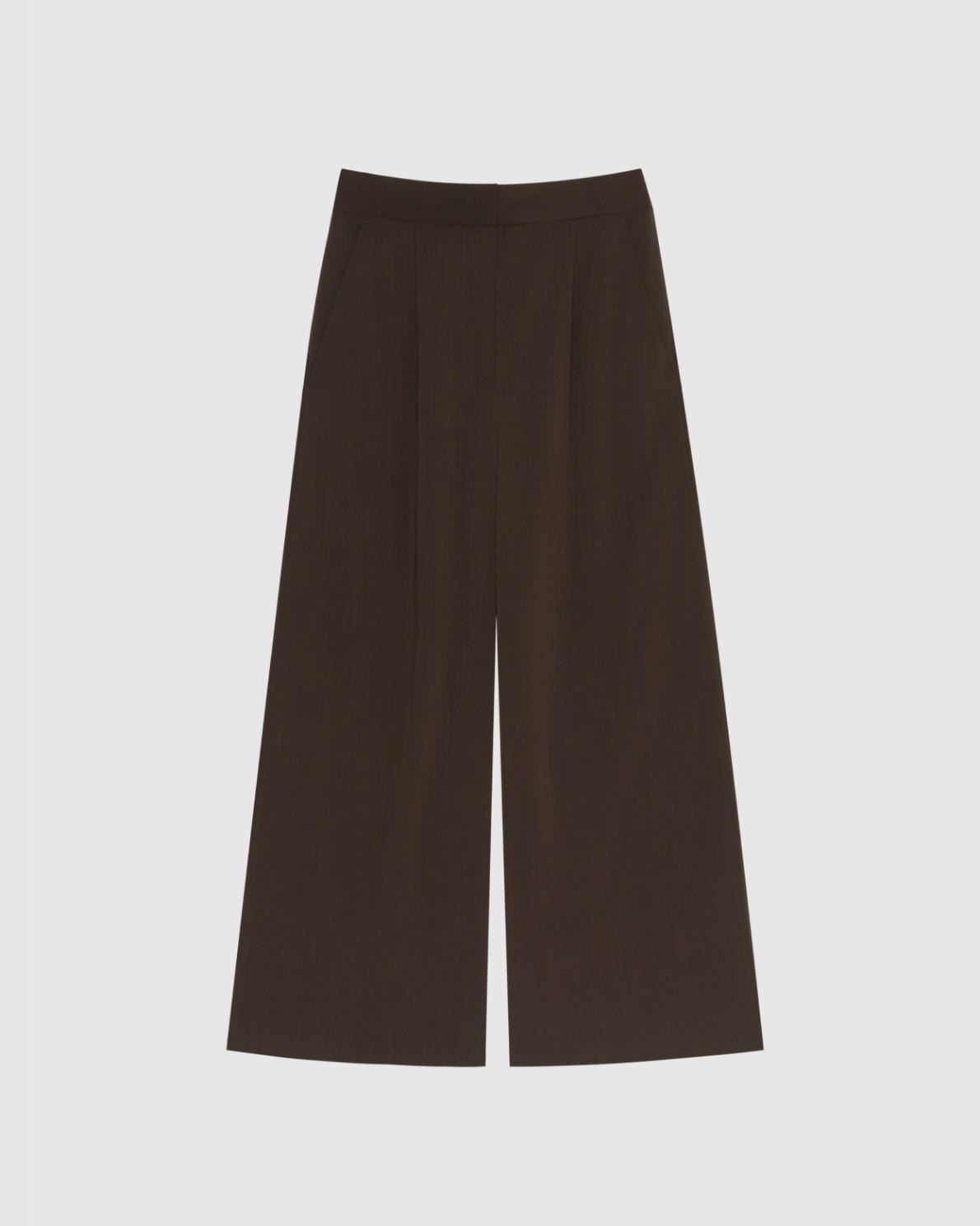 Wide Pants - Brown