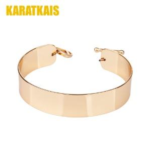 Plain Curve Bracelet 5mm