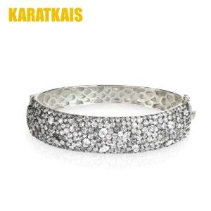 Diamond White Gold Bracelet 5mm