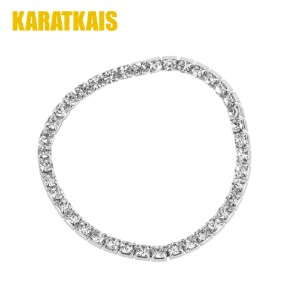 White gold tennis chain