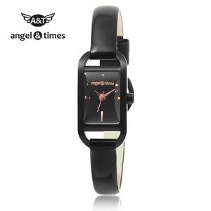 [엔젤앤타임][Angel&Times] AT14001BB [한국본사정식A/S] 여성용 가죽밴드시계