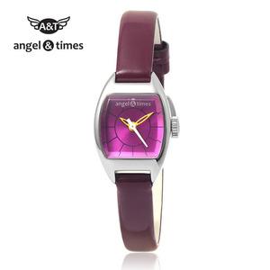 [엔젤앤타임][Angel&Times] AT14002PU [한국본사정식A/S] 여성용 가죽밴드시계