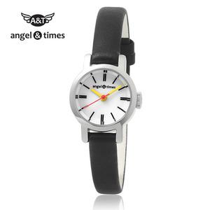[엔젤앤타임][Angel&Times] AT14003BB [한국본사정식A/S] 여성용 가죽밴드시계