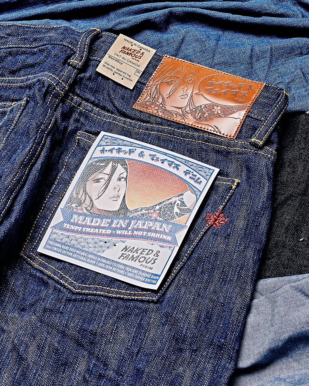 [NAKED&FAMOUS] MIJ8 INTANGIBLE CULTURE TREASURE HAND DYED SELVEDGE