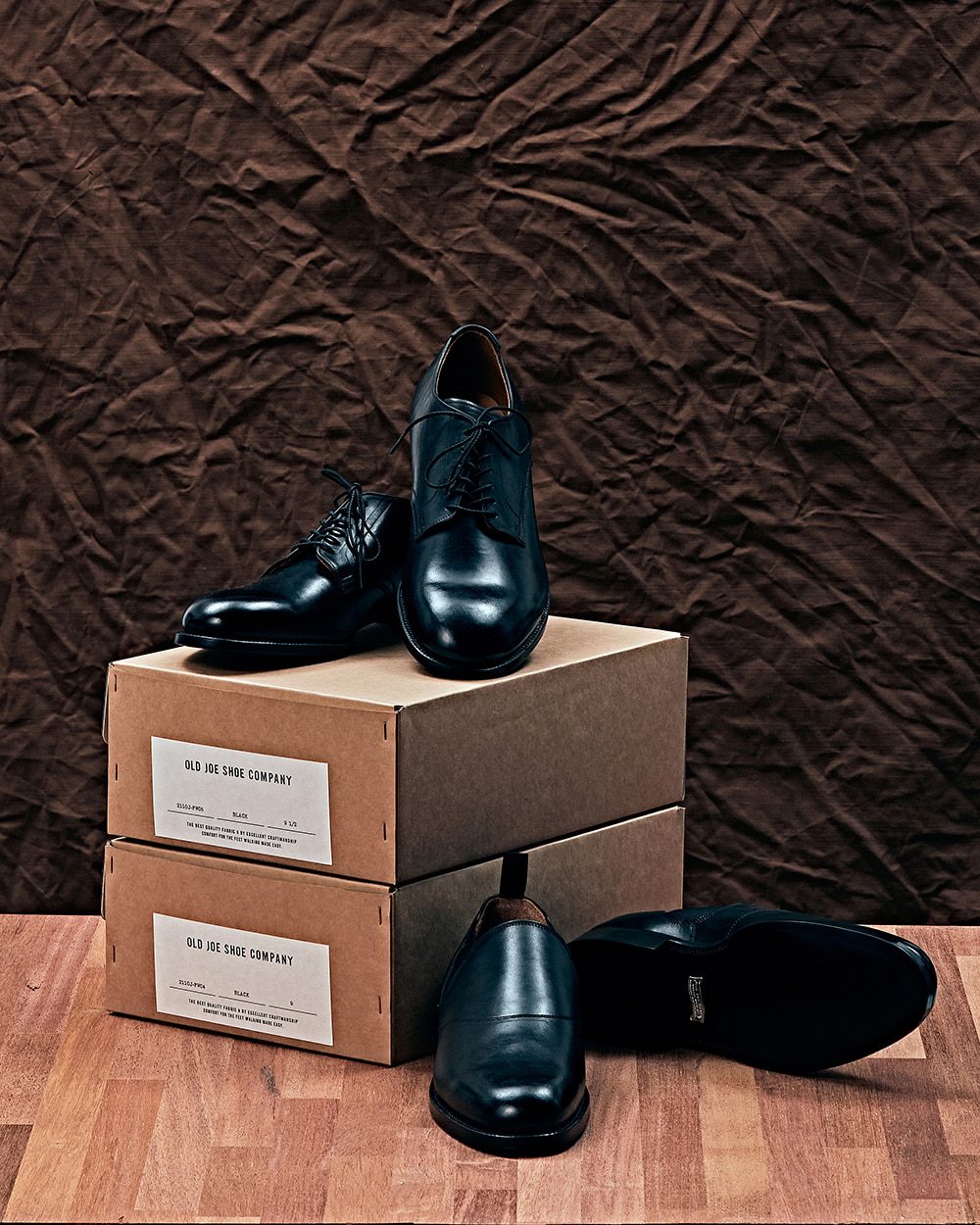 [OLD JOE] Italian Horse Butt Leather Shoes