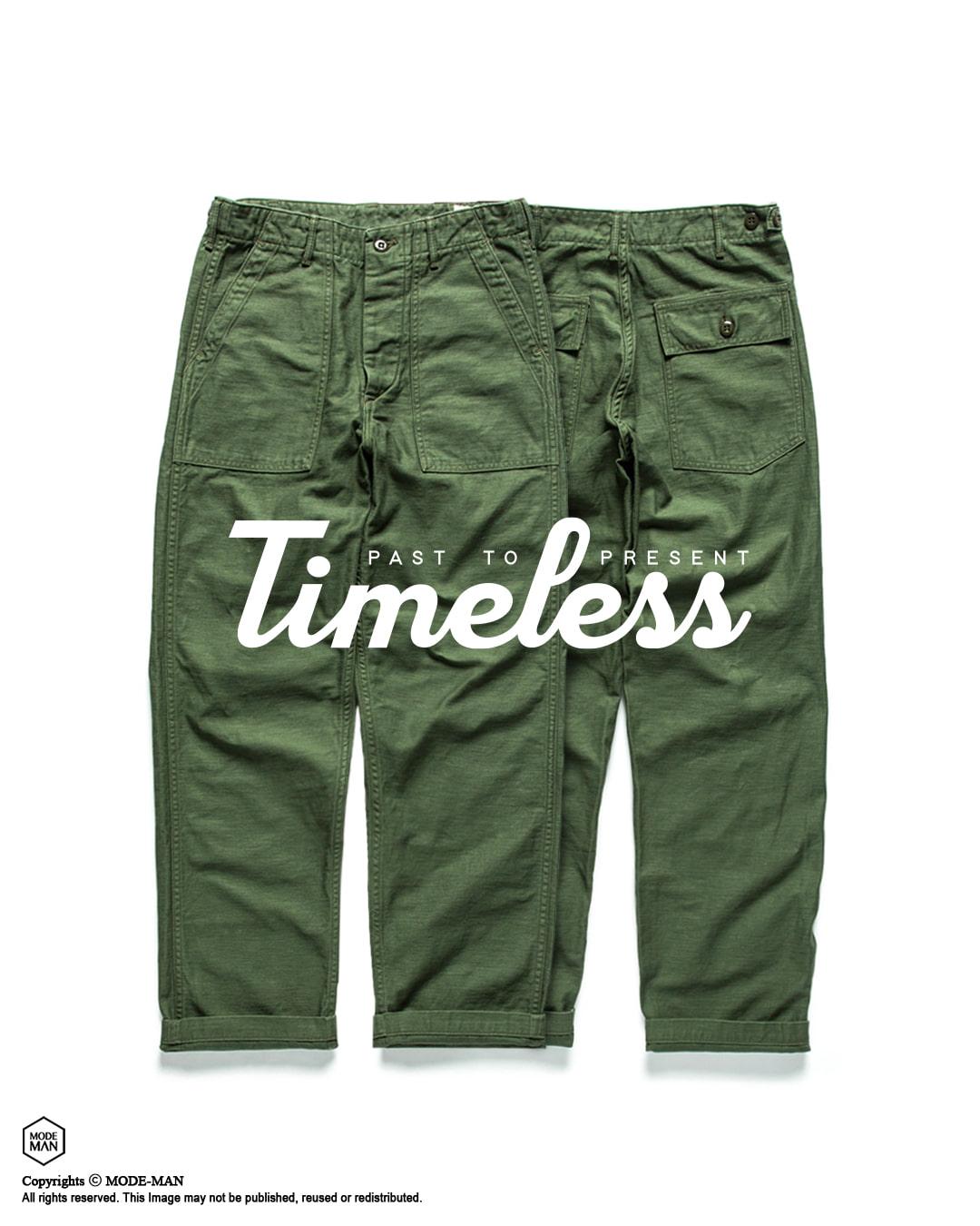 [TIMELESS] Fatigue Pants