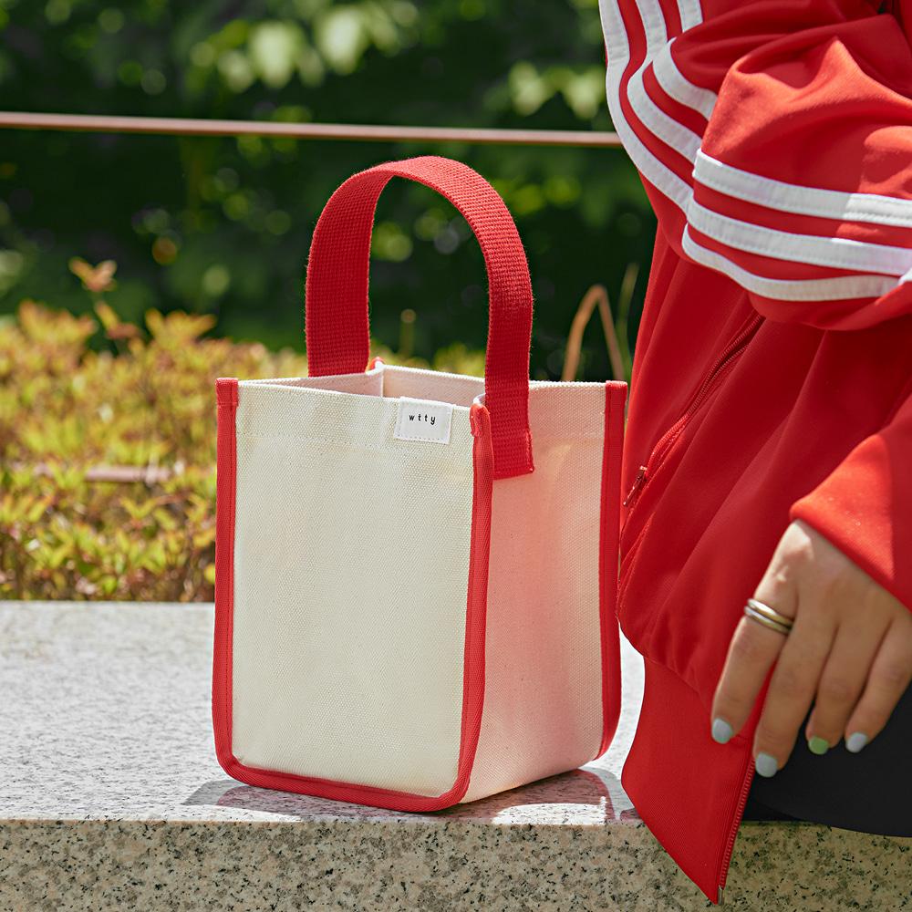 포켓 산책 가방 (Red)