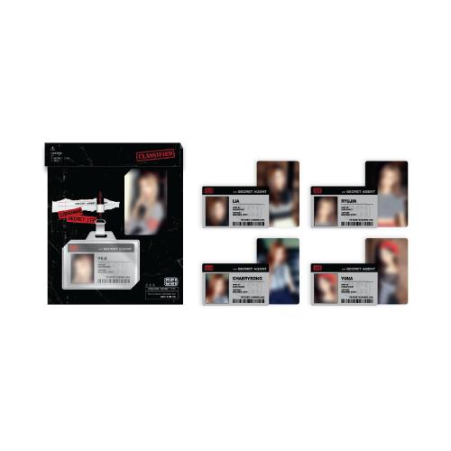 [7/27 발송] 있지 - 05 비밀요원 ID 카드 + 랜야드 세트 / 2021 SECRET STORE