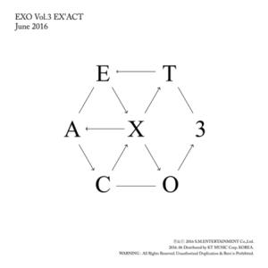 엑소 - EX'ACT / 3집 정규앨범 (KOREAN VER.)