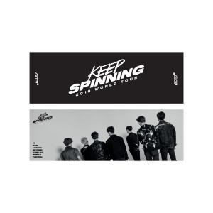 [SALE] 갓세븐 - 11 월드 투어 슬로건 / 2019 TOUR 'KEEP SPINNING'