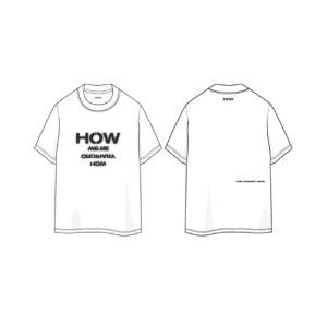 우즈 - 01 HOW 티셔츠 / 25TH BIRTHDAY LIMITED MD