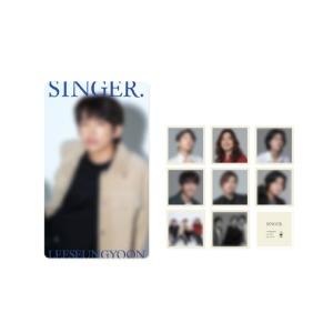 싱어게인 TOP3 - 01 투명 포토카드 & 프레임 스티커 세트 / SINGER.