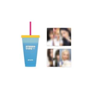[10/29 발송] 스테이씨 - 02 리유저블 컵 & 포토카드 세트 / STEREOTYPE