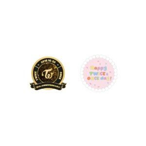 [11/11 출시] 트와이스 - 04 금속 뱃지 / HAPPY TWICE & ONCE DAY!