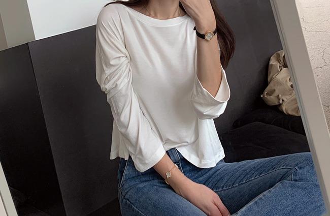 (민스샵제작)민스에코 루즈 크롭 티셔츠 (주문대박♥)